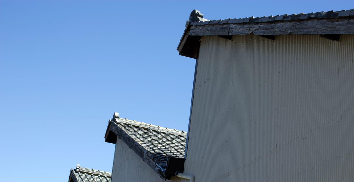 磐田福田地区ののこぎり屋根工場