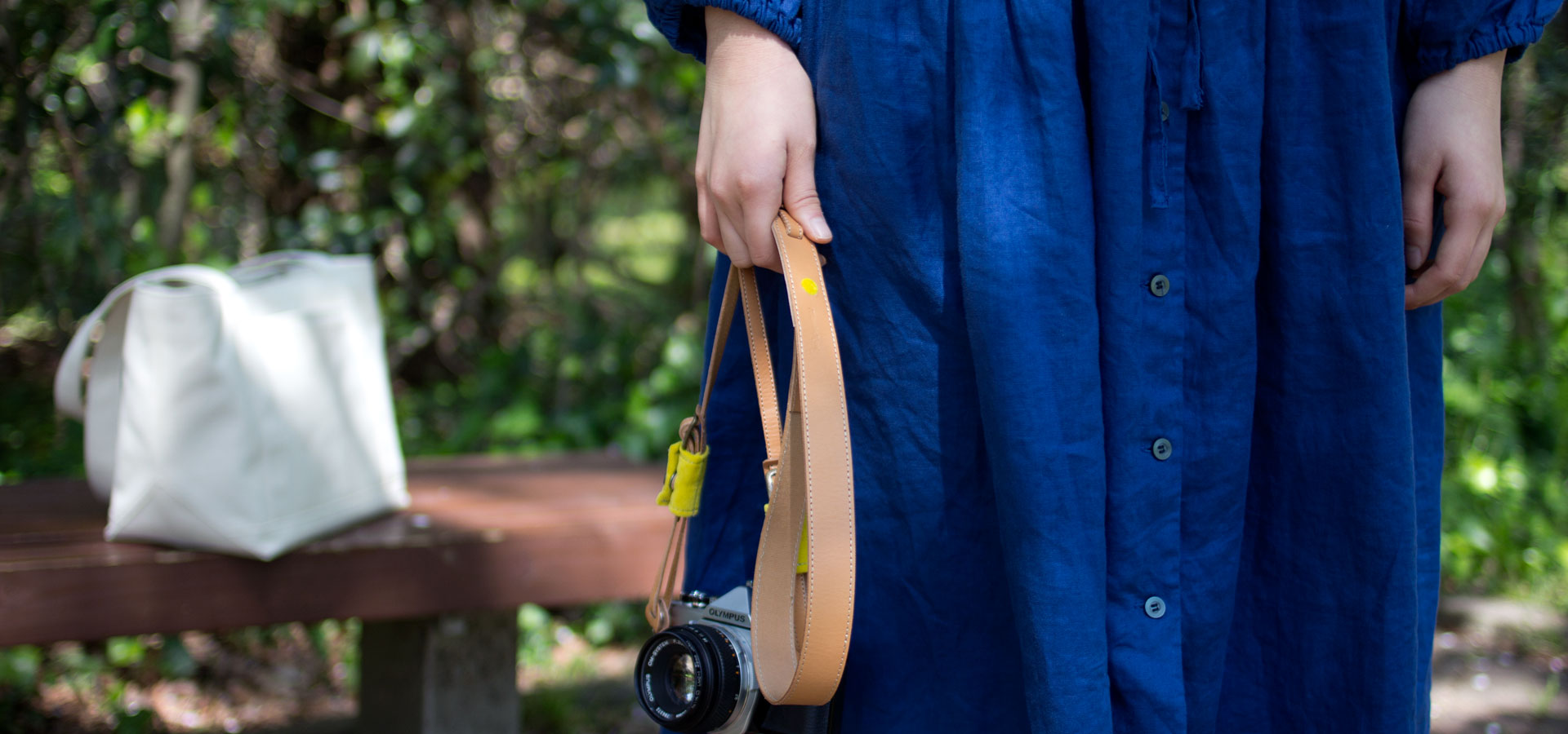 遠州磐田のゆたかな織物をカメラと共に。
