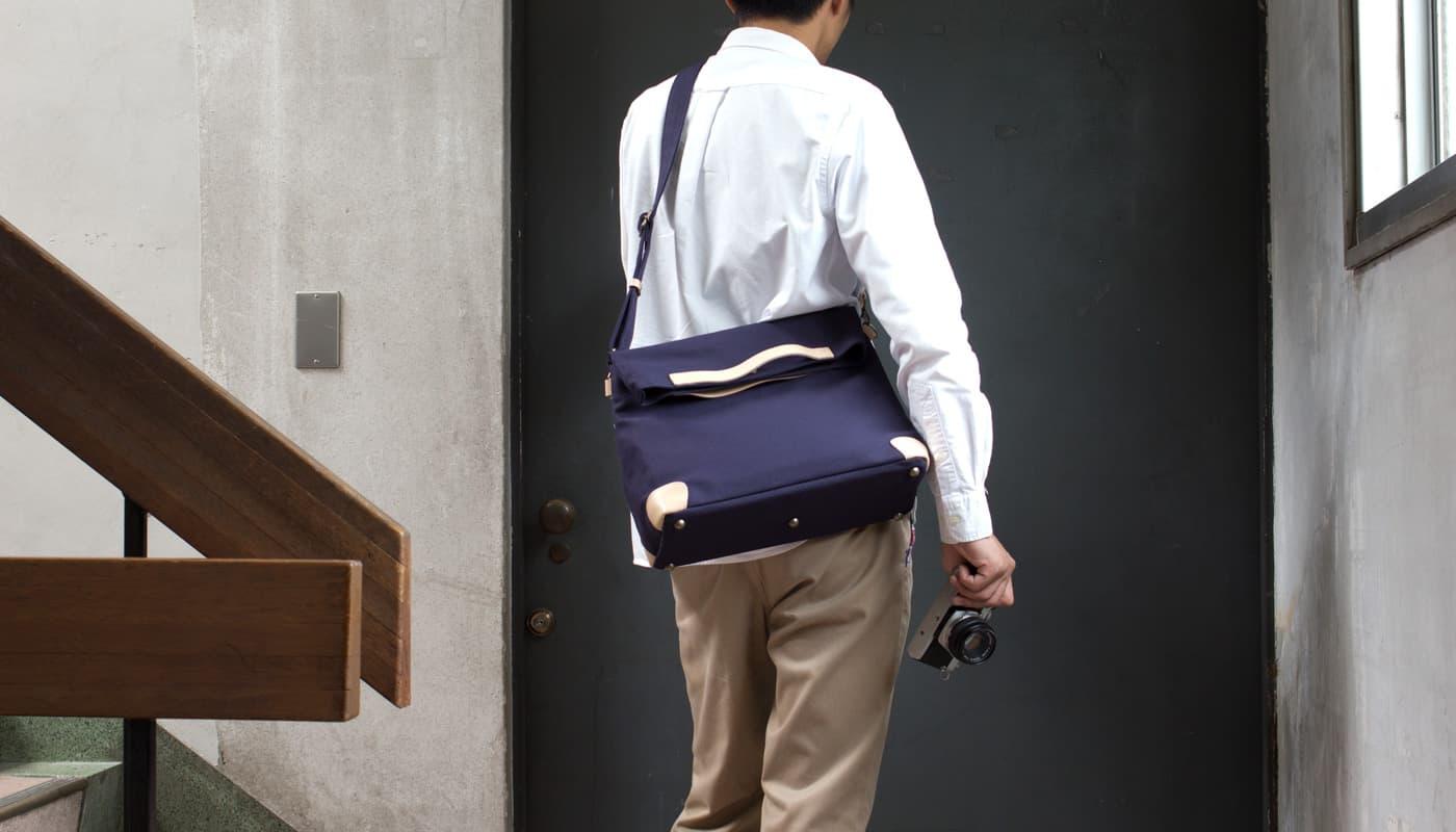 2Wayカメラバッグ(帆布・デニム)