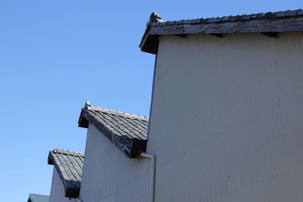 のこぎり屋根工場