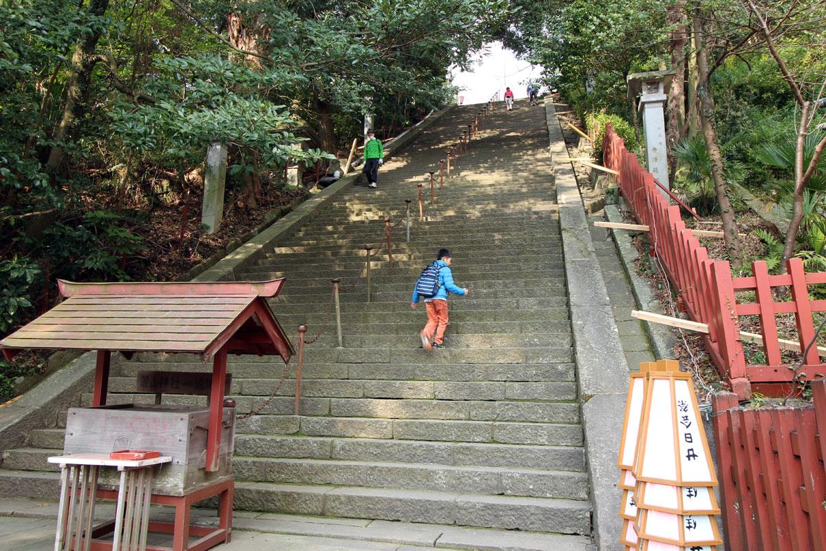 浅間神社階段
